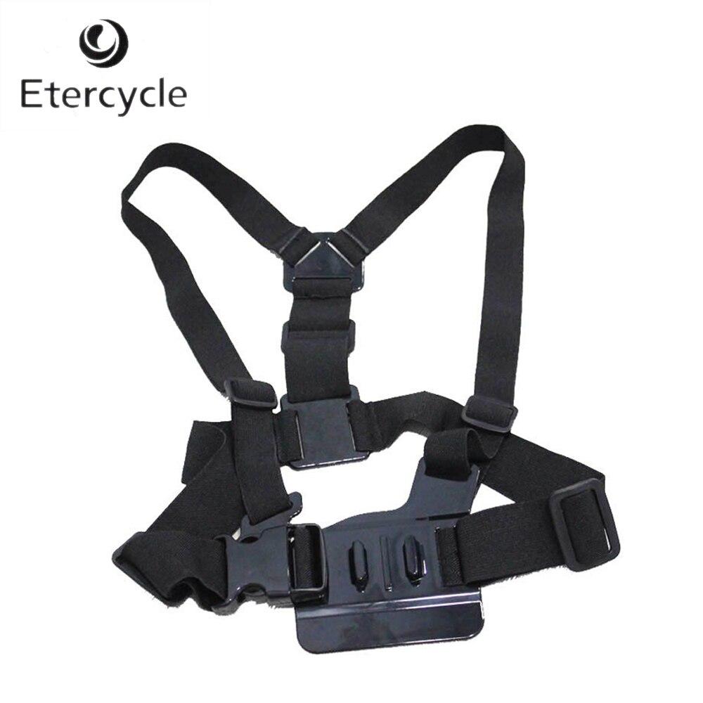 Sports & Action Vidéo Caméras Épaules Fixation de la Dragonne Harnais de Poitrine ceinture Adaptateur Pour GoPro 5 4 3 + SJCAM M10 M20 SJ5000