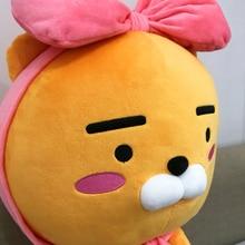 60cm soft Kakao Friends Ryan Lion Plush Toy Stuffed Kawaii Animal Cartoon Doll Cute Cocoa Kids Children Lover Valentine's Gift
