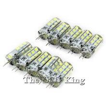 10 шт. светодиодный светильник с регулируемой яркостью G 4 AC DC 12V 220V 3W 9W 12W 15W SMD 3014 24 48D светодиодный мини G4 360 Угол луча заменить галогенные лампы