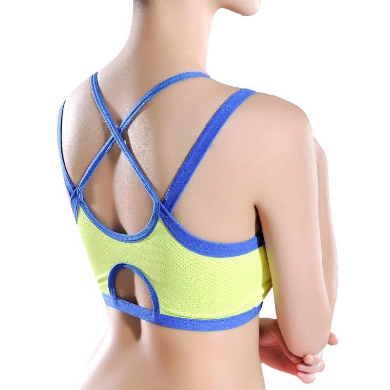 Women Bandage Sport Yoga Bra Workout Fitness Tank Top ...