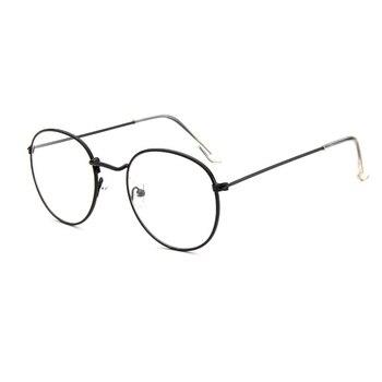 f4d46454c5 Multifocal Progresiva lente miopía gafas redonda de Metal Marco Mira lejos  cerca de anteojos ópticos por