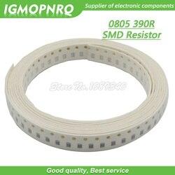 300pcs 0805 SMD Resistor de 390 ohm Resistor De Chip 1/8W 390R ohms 0805-390R
