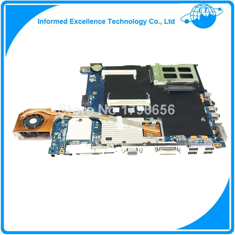For ASUS A6T A6TC Laptop Motherboard System Board all functions Work Good
