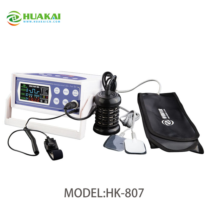 Detox Foot Spa Machine HK-807A With CE And FDA 2016 newly hot selling detox foot spa hk 807a