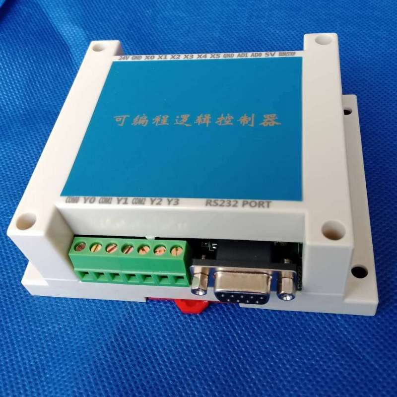 Programmable Logic Controller Single Board Plc FX2N 10MR STM32 MCU 6 Input 4 Output AD Input Enclosure Relay Automatic Control