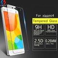 """Protector de Pantalla de cristal templado De Vidrio Para xioami4 CHYI Marca Protector de Pantalla 9 H 2.5d 5.0 """"pantalla de protección de vidrio transparente película"""