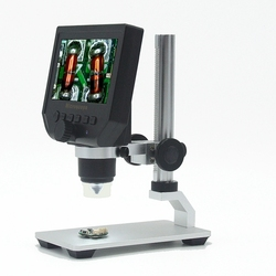 1-600x Digital Electronic Microscope Portable 3.6MP VGA Microscopes 4.3
