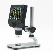 """1 600x Microscope électronique numérique Portable 3.6MP VGA Microscopes 4.3 """"HD LCD carte mère réparation Endoscope loupe caméra"""