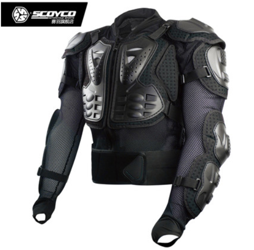 Upgrade Motorcycle Body Armor Motocross Racing Full Protector Gears Armor Jacket Scoyco AM02-2 scoyco am05 racing motorcycle body armor protector black size l