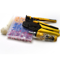 Wire Cable Tube Crimping Tools Terminal Crimping Tool Set with Tool kit AI88