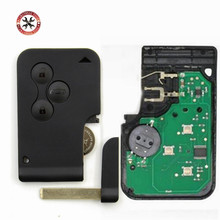 New Remote Key Smart Card 433MHz for RENAULT MEGANE 3 Buttons with Chip PCF7947 Keyless Entry Fob Car Alarm(China)