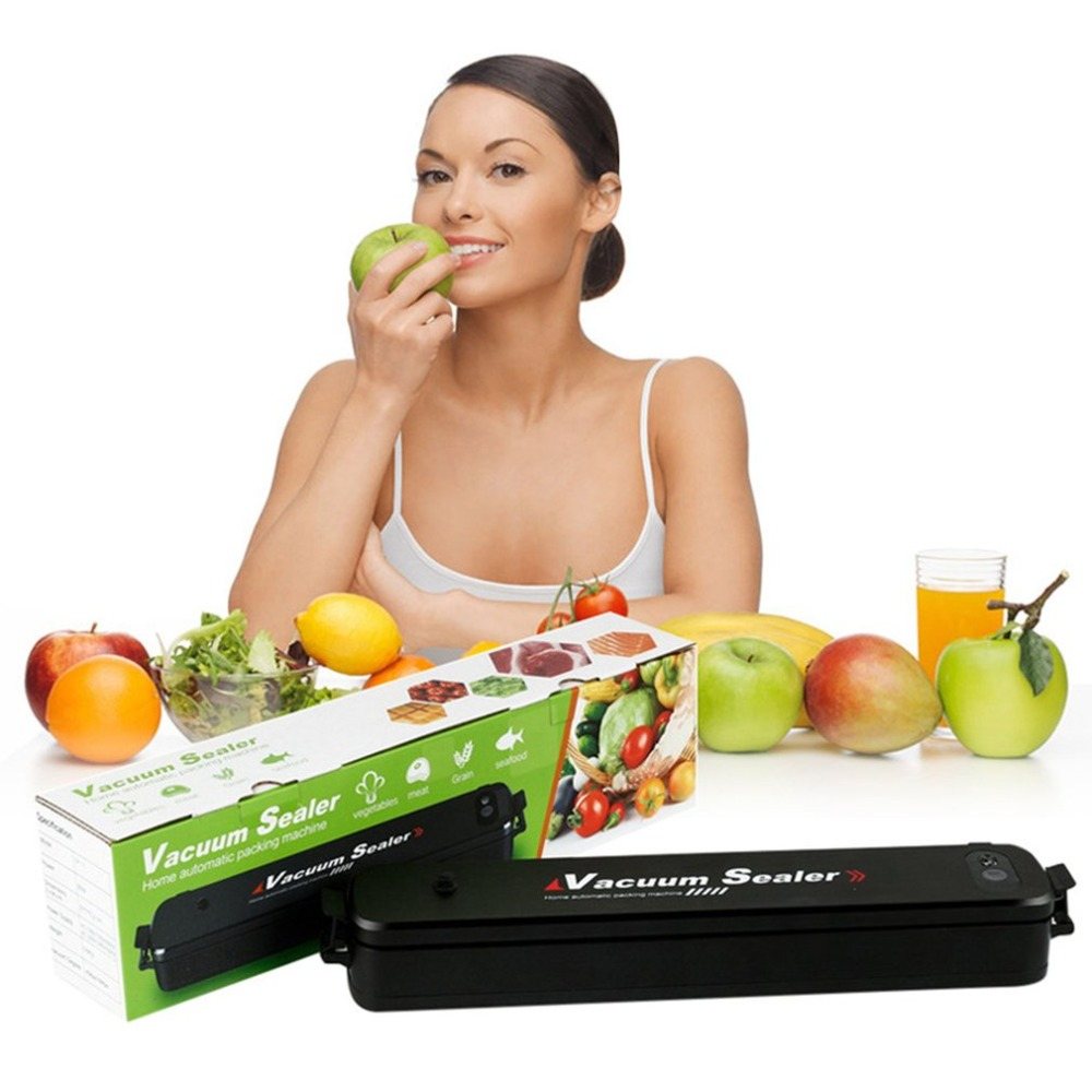 Vacuum Sealer Machine Automatic Vacuum Sealer Portable Compact Vacuum Sealing System for Vacuum and Seal Kitchen Tool