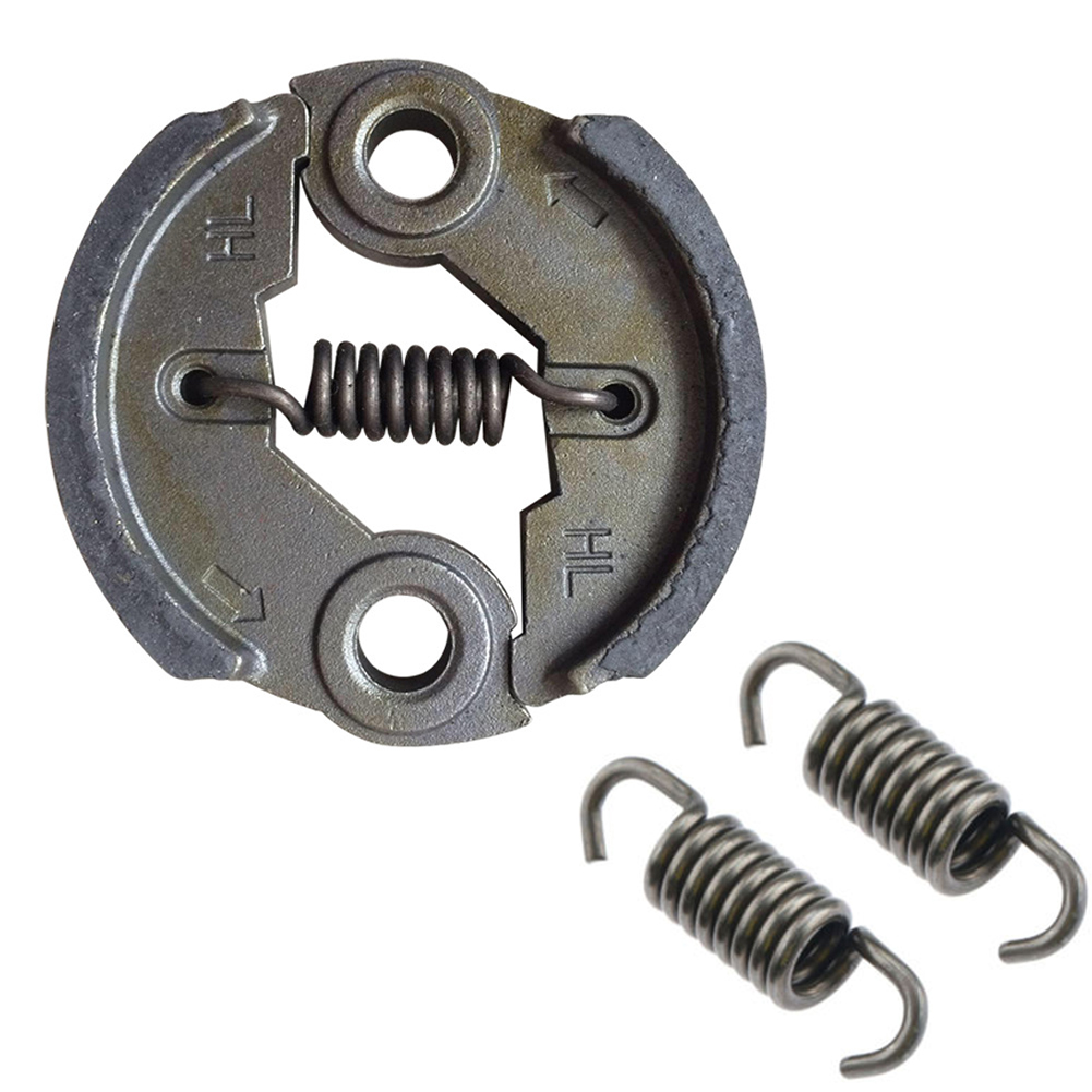 2 Pcs 10cm42cm 65Mn Field Mower Clutch Spring Strimmer Brush Cutter Clutch Spare Parts Brush Cutter Clutch Accessories