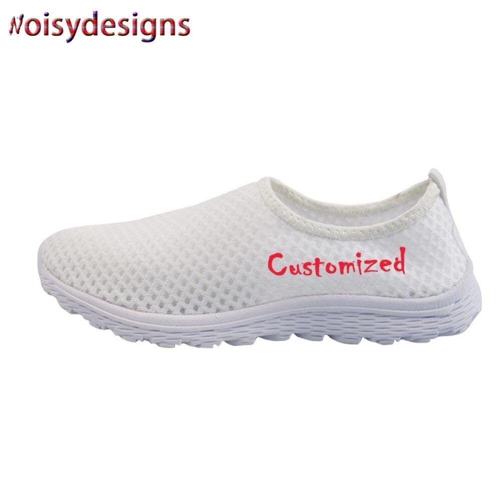 Noisydesigns personnalisé femmes hommes chaussures course femmes tennis sport chaussures dames chaussure mode Parents et enfants chaussure-AA