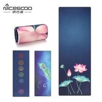Microfiber Yoga Towel Non Slip Tie Dye Printed Quick Dry Yoga Mat Cover Ultra light Yoga Blanket Pilates Dance Sports Mat Towel
