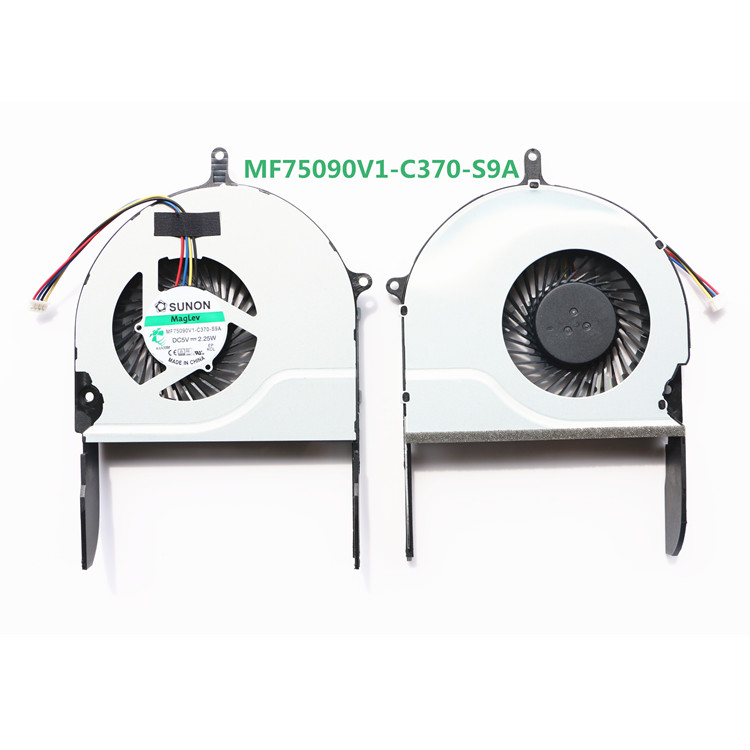 computer Processor radiator blower heatsink cooler fan For ASUS N751 N751JK CPU laptop CPU Cooling computer processor radiator blower heatsink cooler fan for asus u24g u24e b23e laptop cpu cooling