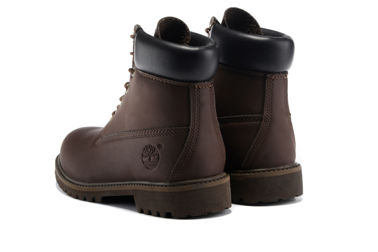 TIMBERLAND Men Classic 10061 Dark Brown Autumn Ankle Martin Boots,Man Male Leather Outdoor Casual Shoes Oversea Simple Version 3