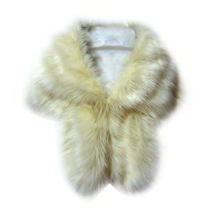Image 5 - Faux Fur Bruiloft Jassen Winter Warme Jas Vrouwen Bolero Shawl Bovenkleding Dame Cape Dagelijkse Slijtage