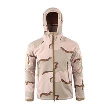 Outdoor Tactical Velvet Jacket Men Hiking Jacket Camouflage