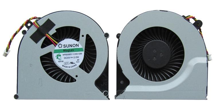 SSEA Original Nový CPU ventilátor 3pin pro satelit Toshiba C850 C855 C870 L850 L870 Laptop Chladič L870