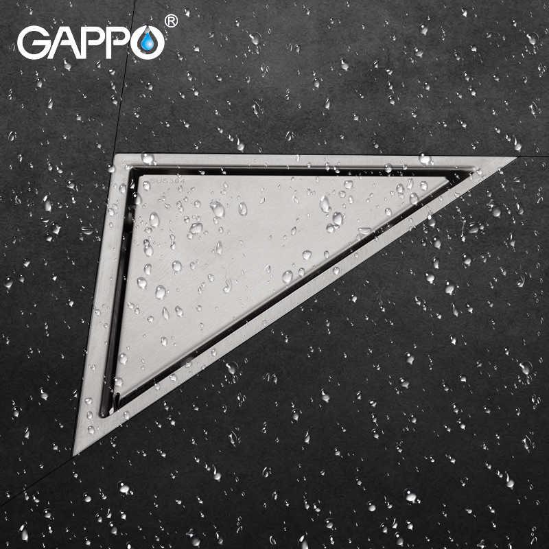 GAPPO Стопорные стопоры из нержавеющей стали покрытие для пола ванная комната водосточные сливы напольные сливы для ванной