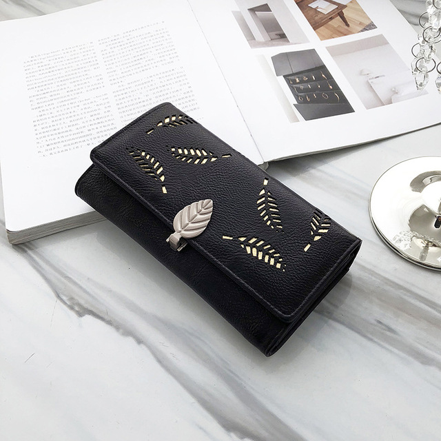 Soft PU Leather Women's Clutch