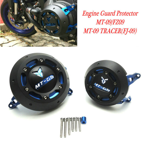 2016 NEW MT-09 tracer Engine Guard Protector For YAMAHA MT-09 Engine Guard Case Slider Cover Protector Set