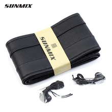 Sunmix рулевое коса рулевого швейные дышащая руль тип классический мягкая колеса