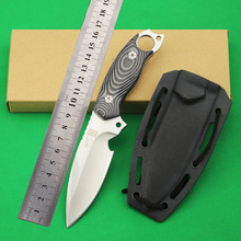 Sea monster 58-59HRC AUS-8A Survival knife outdoor camping fixed blade knife cutting tool collection Gift