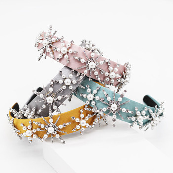 New fashion simple stars pearl geometry multicolor headband street dance party travel show hair accessories 952 1