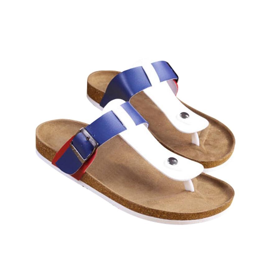 Summer Cork Flip Flops Women Beach Slippers Fashion Lovers Flats Shoes Female Slides Adult Slip On Sandals