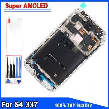 89fb79f7d12 100% pulgadas Super AMOLED calidad para Samsung Galaxy S4 i9500 i9505 i337  i545 pantalla LCD