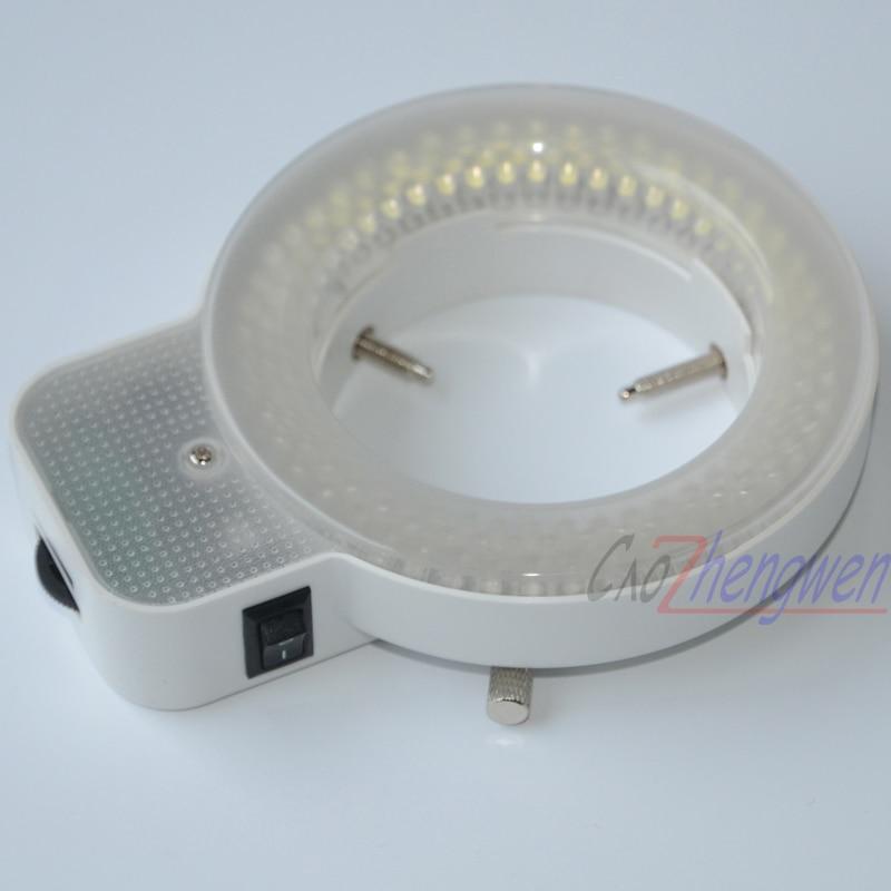 FYSCOPE 144 pièces peut contrôler la lumière LED de microscope d'éclairage de Microscope d'anneau blanc de lumière LED