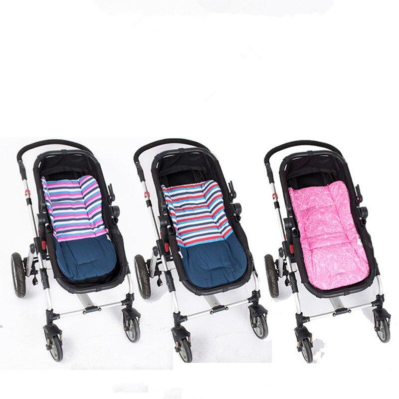 2019 Új, lélegző lélegző baba pamut babakocsi párna ülőpad hordozható cserélhető párna csecsemő fedél védő babakocsi tartozék