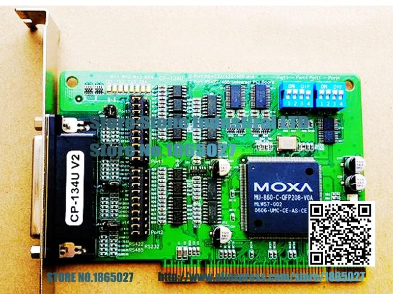 ФОТО CP-134U V2 4 RS-422/485 PCI Multiport Serial Card 100% test