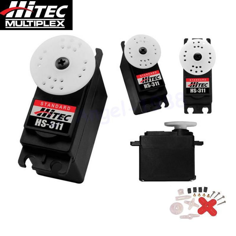 4pcs/lot Hitec HS-311 Standard Steering Engine Standard Economy Servo