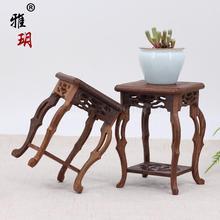 Красное дерево основа ремесла нечетный камень твердой древесины чайник украшение ваза ладан горелка цветочный горшок статуя Будды маленький цветок рамка
