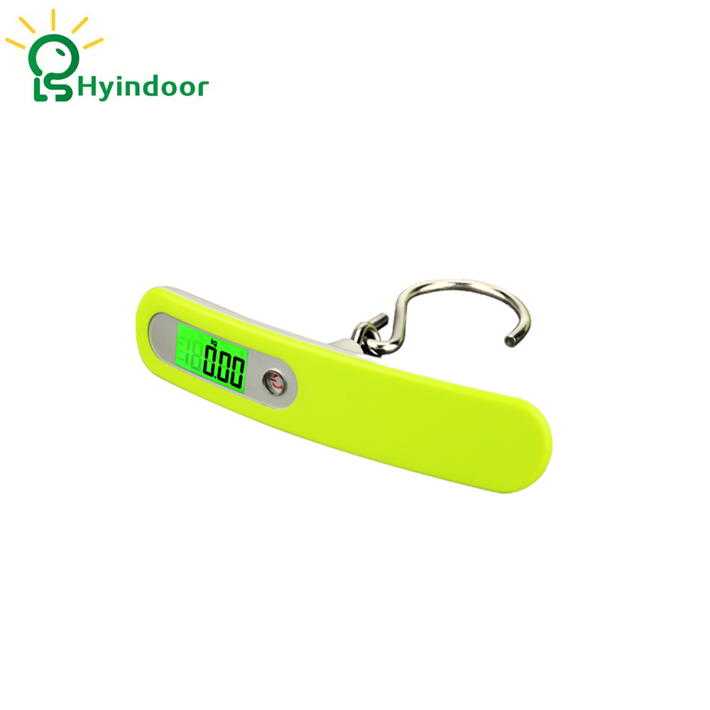 50kg/10g Luggage Scale LCD Electronic Pocket Hanging Scale Portable Electronic Travel Suitcase Bag Weighing balance scale,Hook 10x electronic portable digital luggage scale handheld travel suitcase weighing 50kg toogoo r