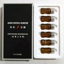 Нано метр 2 минут обезболивающий татуировки пигмента татуаж кожа успокоить решение боль для бровей онемение 6 бутылок/коробка(China (Mainland))