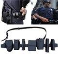 Couro tático patrulha cinto dever bundeswehr ausrüstung swat engrenagem Equipamento 8 em 1 multifunções de Segurança cinto de segurança da polícia