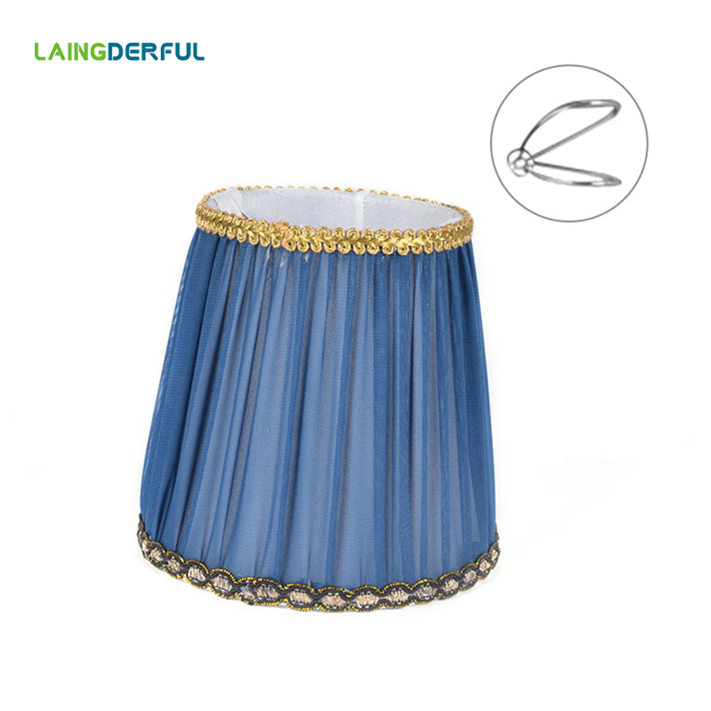 Art Deco Lamp Shades: Modern Simple Fabric Lampshade Chandelier Wall Light Art