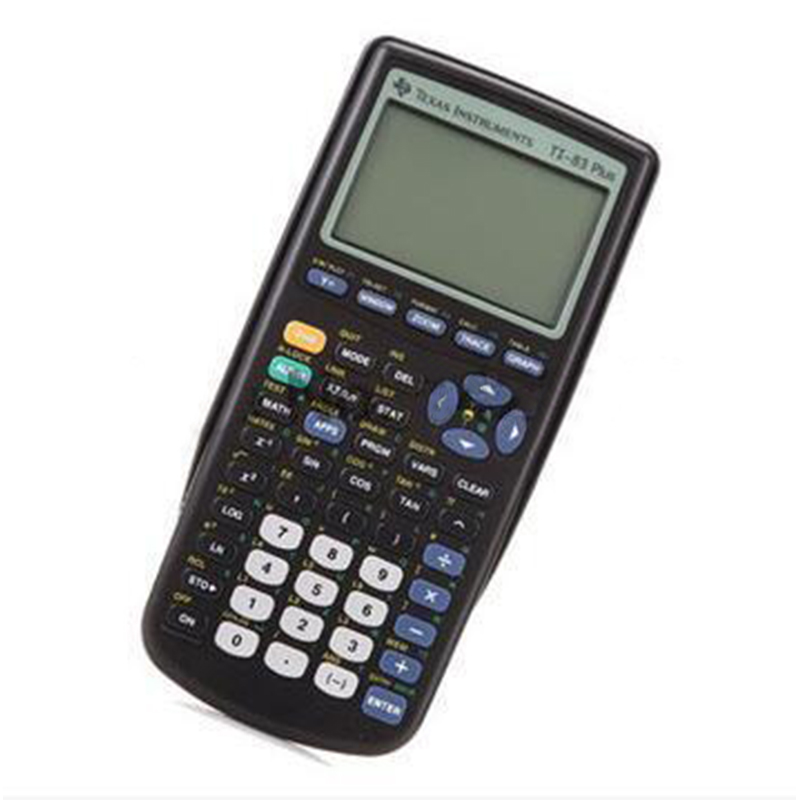 2018 Texas Instruments nouveau Ti-83 Plus Calculatrice graphique Promotion de vente 10 Led Calculatrice portable Calculatrice