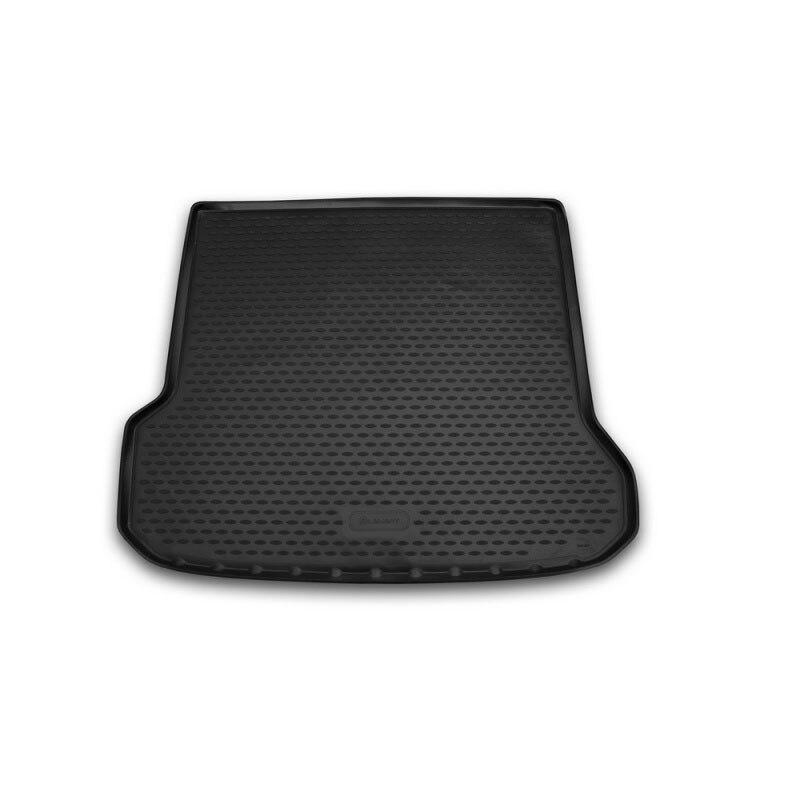Pour Volvo XC70 2007-tapis de coffre de voiture arrière coffre intérieur plateau de chargement tapis de sol voiture style accessoires de décoration intérieure