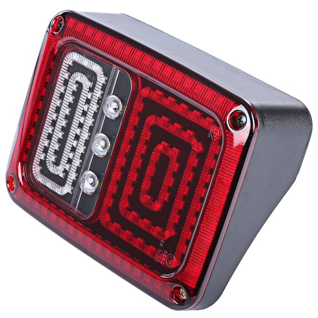 Car LED Break Stop Tail Light for Jeep Wrangler Super Bright Improve Road Safety Withstand Shock and Vibration 2pcs OL – JT02
