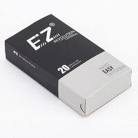 EZ Nouvelle Révolution Aiguille Cartouche Round Liner #08 Bugpin 7.0mm Super Serré L-Cône de sécurité membrance à l'intérieur système 20 Pcs/boîte