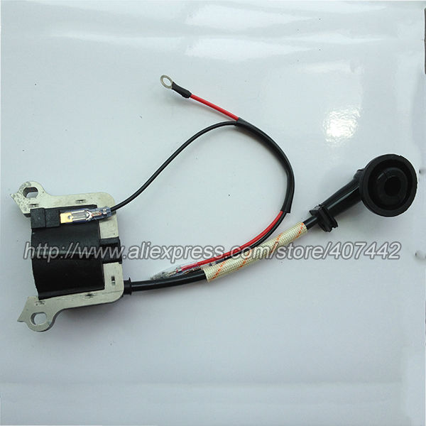 IGNITION COIL TO FIT VARIOUS GRASS TRIMMER BRUSH CUTTER LAWNMOWER.