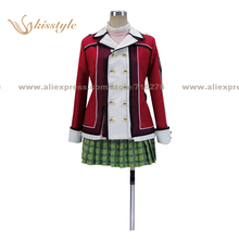 Kisstyle Fashion The Legend of Heroes: Trails of Cold Steel Alisa Reinford Uniform Clothing Cosplay Costume,Customized Accepted