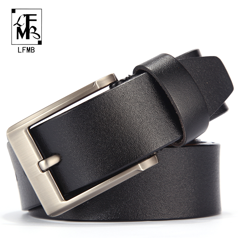 [LFMB]men Belt Leather Male Genuine Leather Strap Trousers Male Strap Genuine Leather Belt Men Ceinture Homme Cuir Veritable