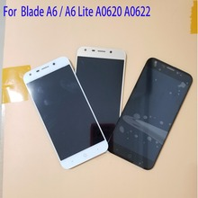 100% Tested 5.2 inch For ZTE Blade A6 / A6 Lite A0620 A0622 LCD Display Touch Screen Assembly Repair Parts With Tools