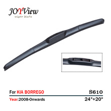 RAINFUN S610 24+20 CAR WIPER BLADE FIT FOR KIA BORREGO, HIGH QUALITY  AUTO FRONT WINDSHIELD WINDSCREEN